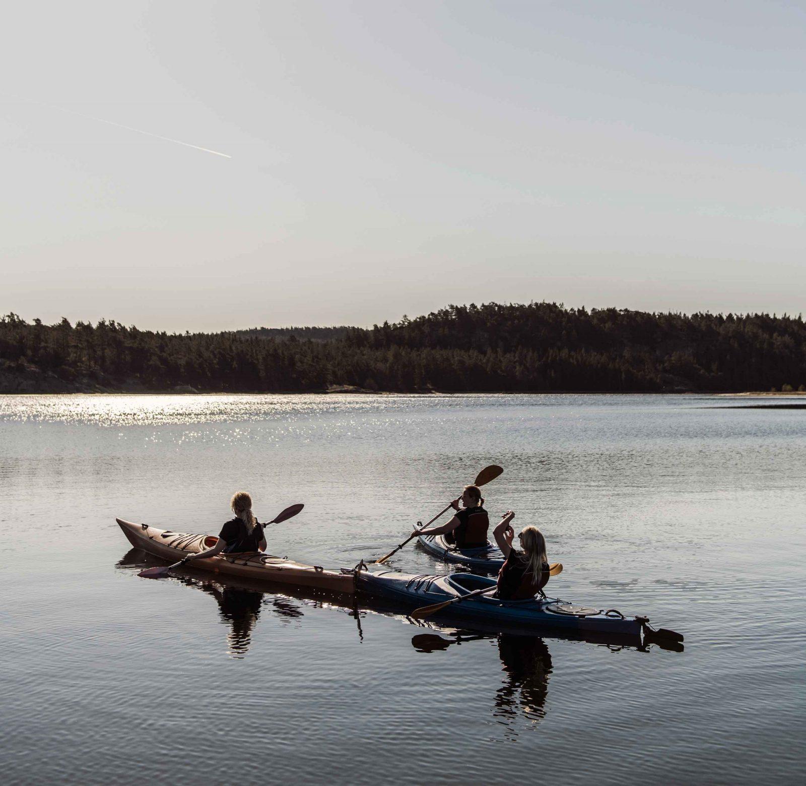Padla kajak och kanot - Bokenäset Hotell & Konferens