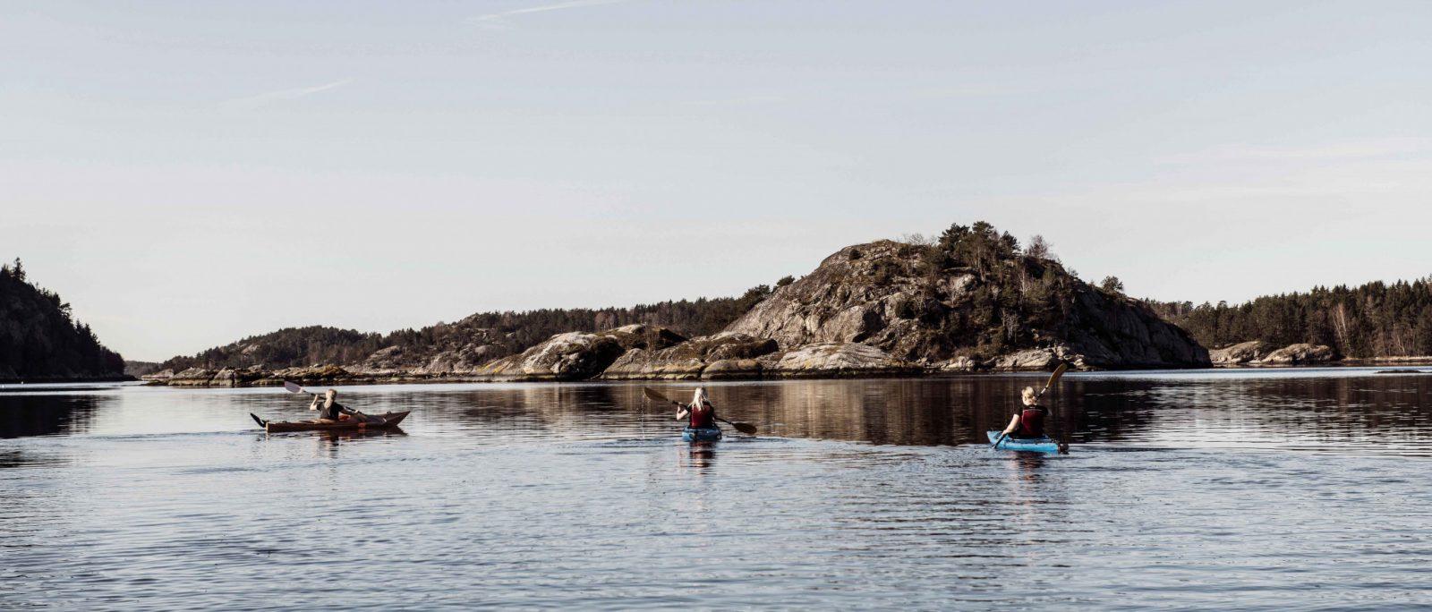 Kajak i Koljöfjorden - Bokenäset Hotell & Konferens