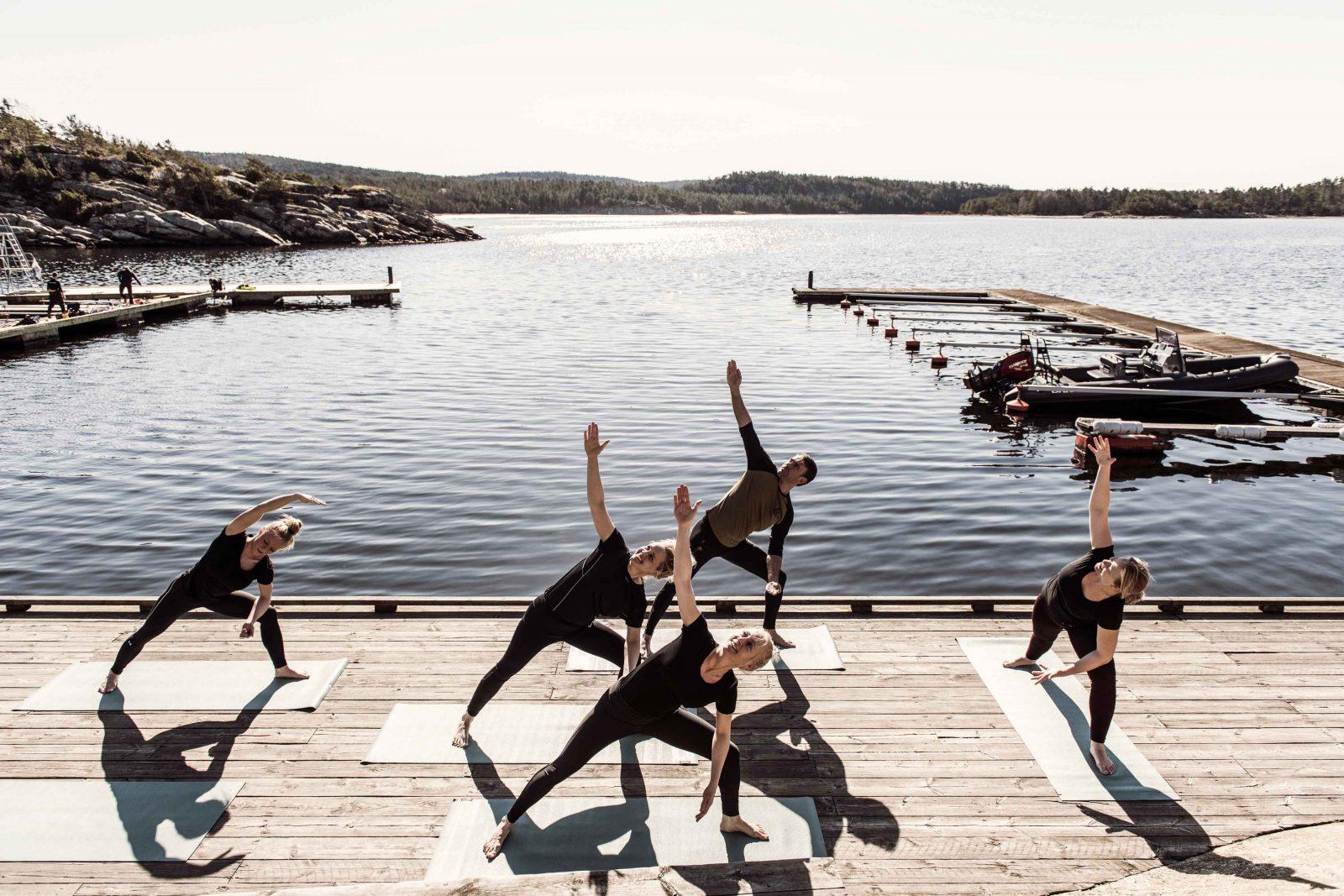 Aktivitet, Yoga - Bokenäset Hotell & Konferens