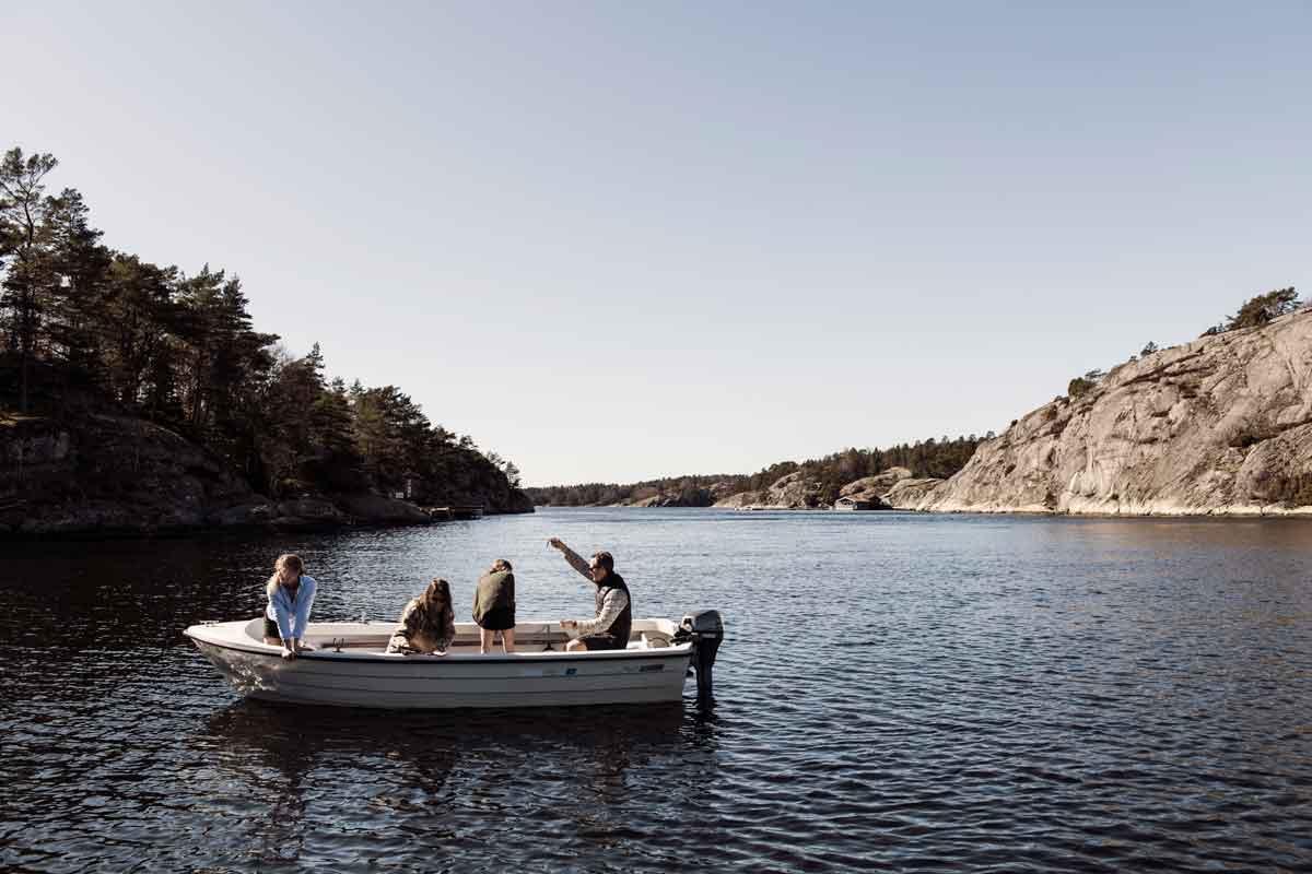 Hyra båt på västkusten