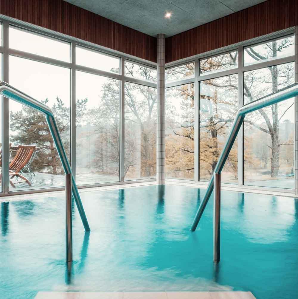 Relaxpool I spa på Bokenäset Hotell & Konferens